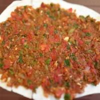 Lahmaçun (pizza turque)