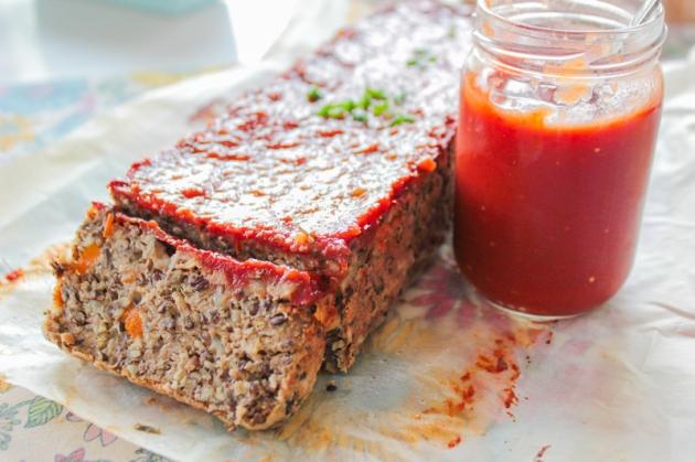 terrine vegan lentille lentil loaf