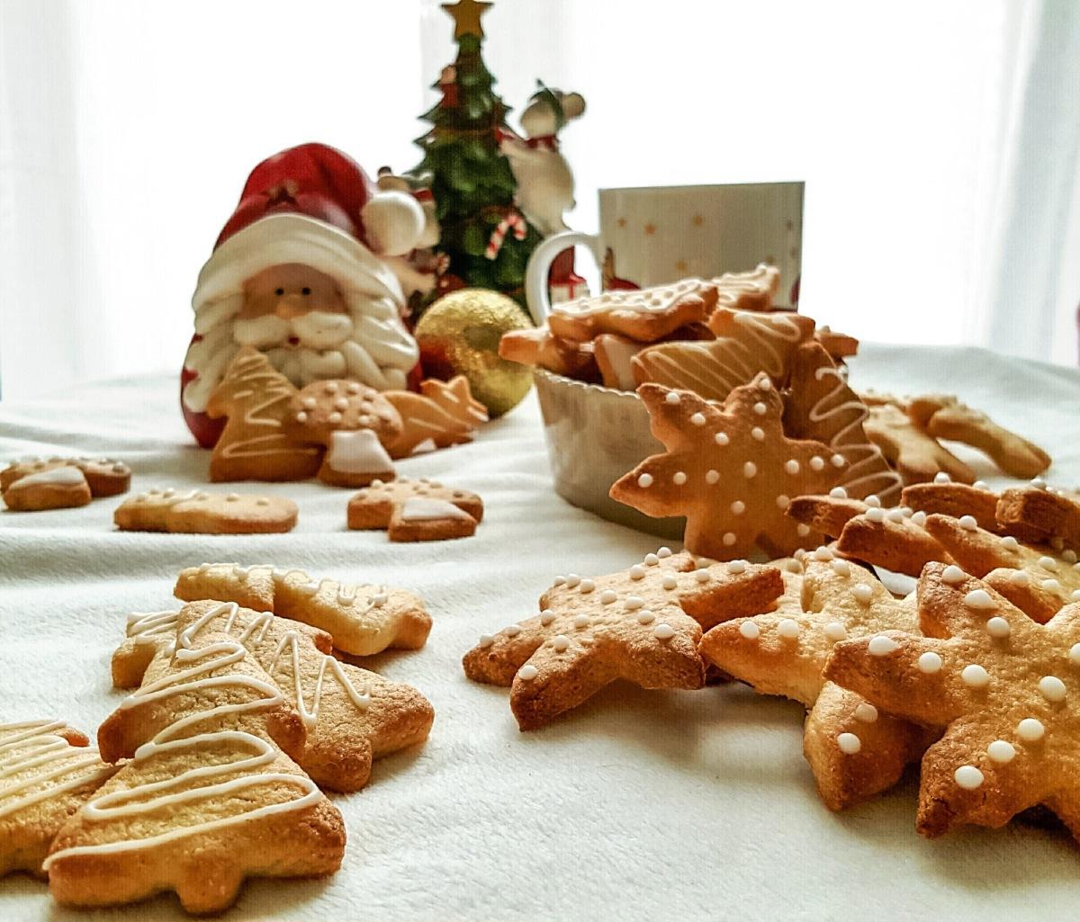 Biscuits de Noël au Sirop d'Érable