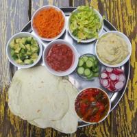 "Tortillas pour Fajitas ""Vegan"""