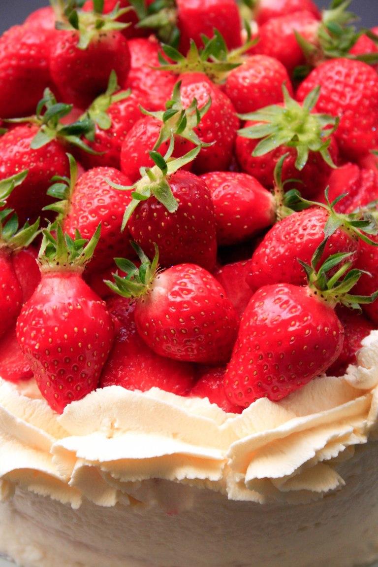 gateau fraise (6 sur 7)