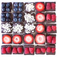 Happy 4th July ! Patriotic Chocolate : Covered Marshmallows… 🇬🇧