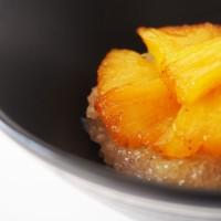 Le Tapioca au Lait de Coco et Ananas Rôti