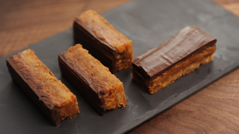 Délices Gourmandises - barres choco caramel