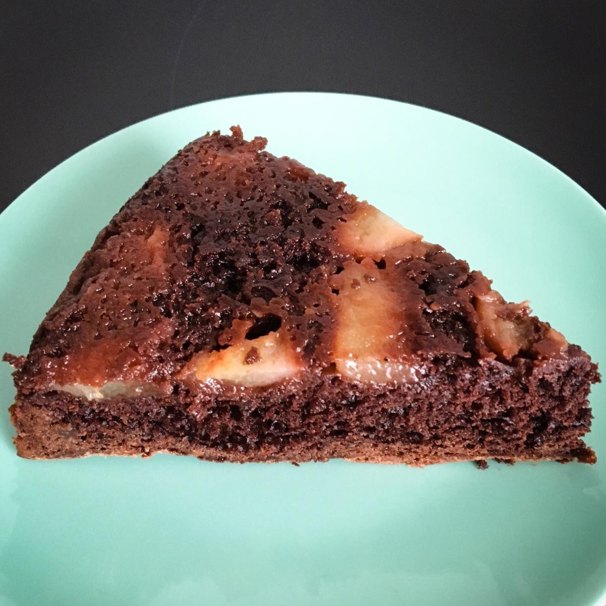Gâteau Moelleux Chocolat Poires
