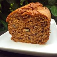 Cake d'Automne au Butternut, Noix de Pécan, Noisettes, Sirop d'Erable