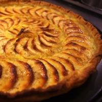 """""""La"""" Tarte aux Pommes au Goumeau de Franche-Comté"""