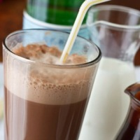 "The ""Egg Cream"" from New-York"
