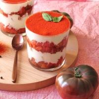 Tiramisu Tomates Mozzarella