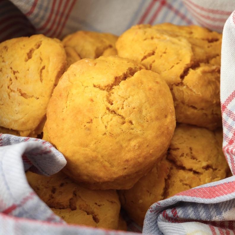 Sweet Potatoes Biscuits, Recette pour le Brunch du Dimanche …