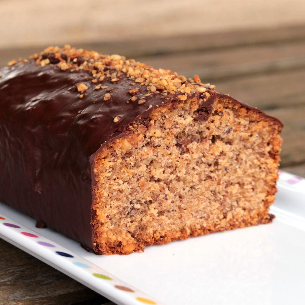 Cake ultime aux Noisettes et enrobé de Chocolat
