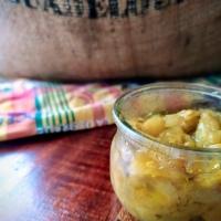 Chutney d'Ananas au Curcuma … Ou Comment Voyager même confiné !